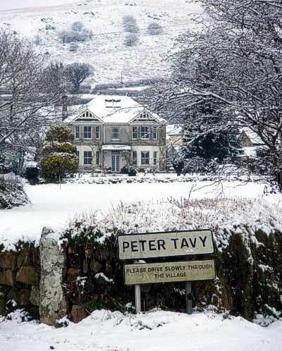 Peter Tavy in the Snow