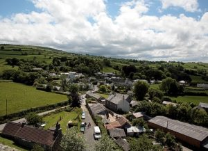Peter Tavy looking south from the Church Tower