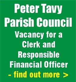 Peter Tavy Parish Council - vacancy for clerk