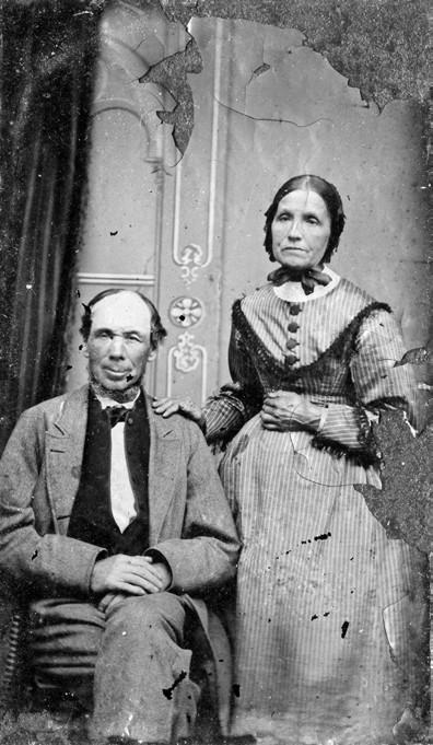 William and Anne Merrifield, c.1855