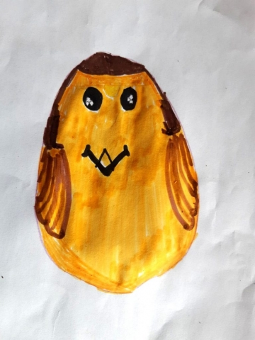 Jess' Egg (age 9)