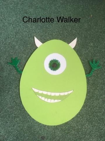 charlotte's egg (age 12-16)