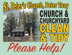 SPRING CLEANING at St. PETER's - 12th JUNE - PLEASE HELP!