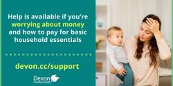 UPDATE on the West Devon Borough Council Help available to pay for basic household essentials