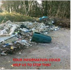 Help Combat FLY TIPPING