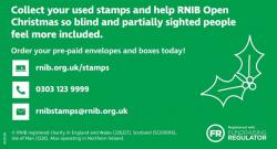 Save your stamps for RNIB
