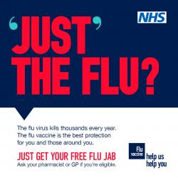 Get your flu jab!