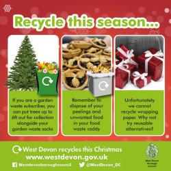 Christmas Season Recycling Dates and News...